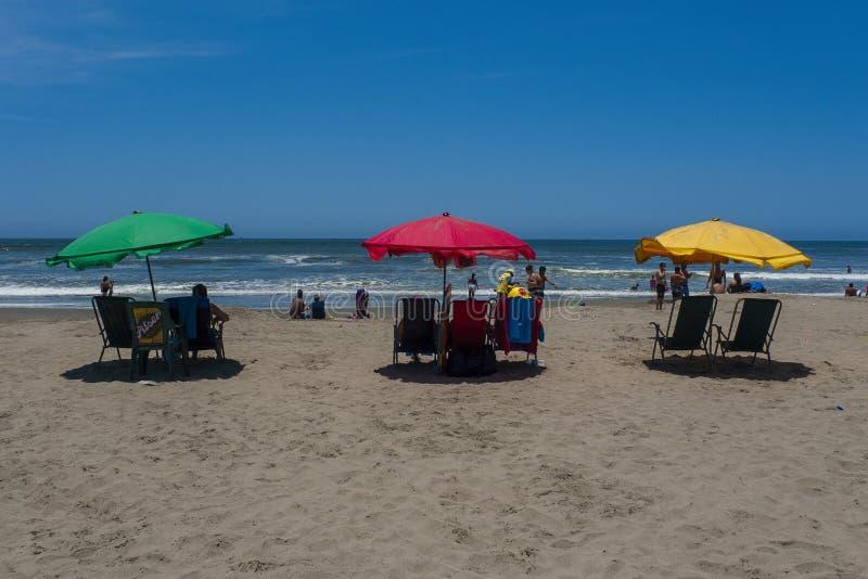 Praia de Ámérica do Sul imagem de stock