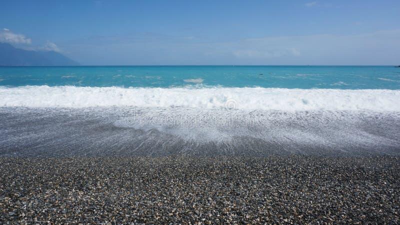 Praia de ŒQixingtan do ¼ de Taiwanï imagens de stock