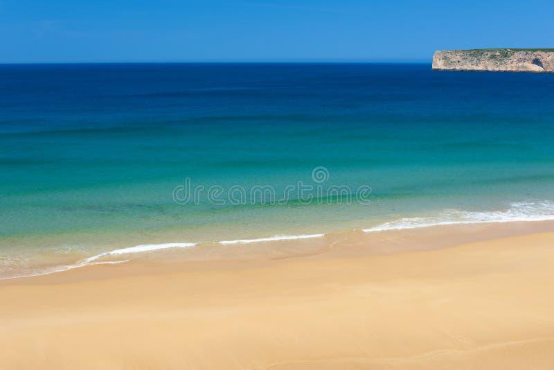 praia de Португалии beliche algarve стоковые изображения