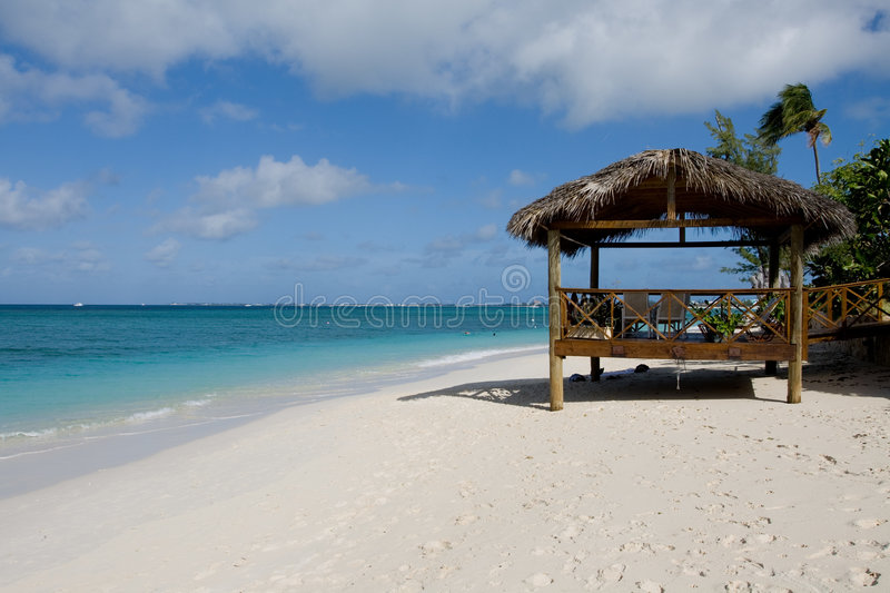Praia de 7 milhas fotos de stock royalty free