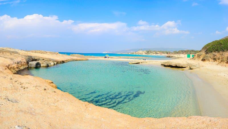 Praia de Achziv, Israel fotografia de stock royalty free