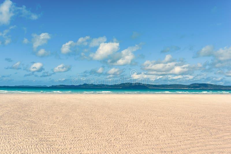 Praia de Airlie dos domingos de Pentecostes fotos de stock royalty free