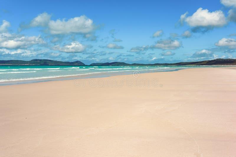 Praia de Airlie dos domingos de Pentecostes foto de stock