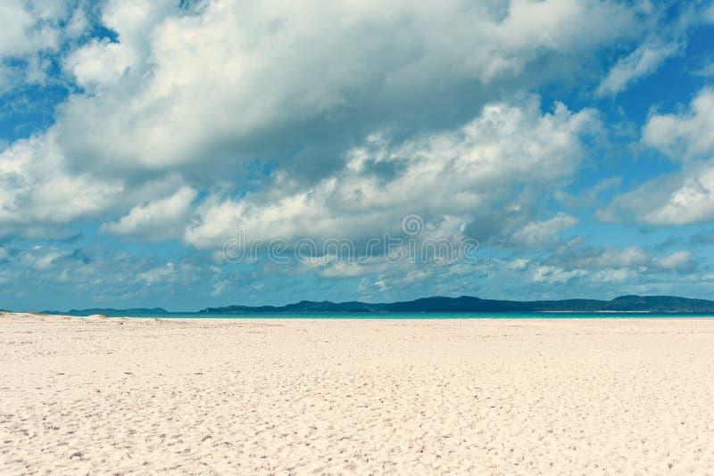 Praia de Airlie dos domingos de Pentecostes fotografia de stock royalty free