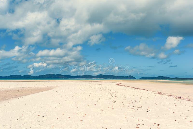 Praia de Airlie dos domingos de Pentecostes foto de stock royalty free