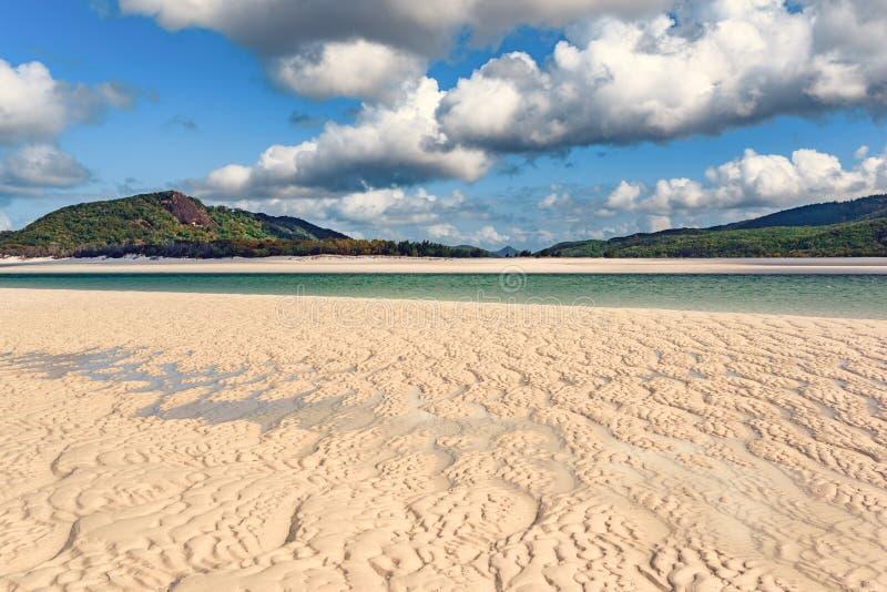 Praia de Airlie dos domingos de Pentecostes fotos de stock