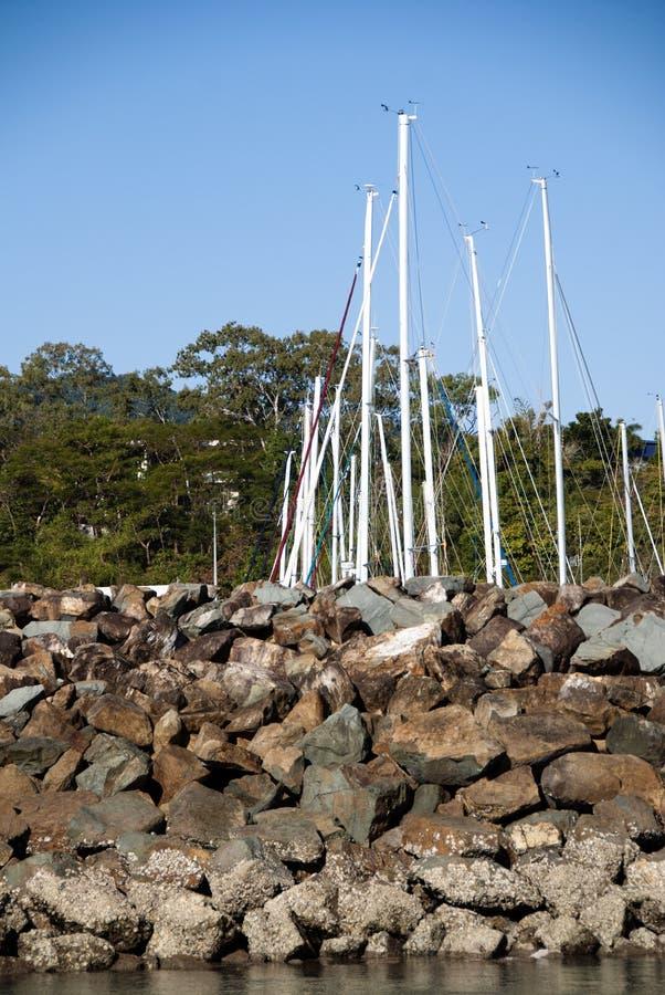 Praia de Airlie, Queensland fotografia de stock