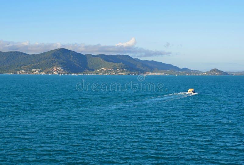 Praia de Airlie, Queensland, Austrália imagens de stock royalty free
