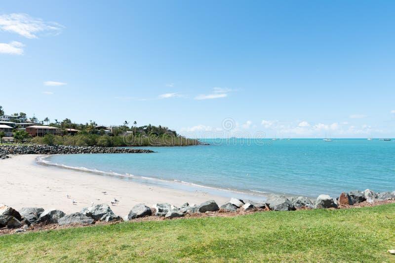 Praia de Airlie, Queensland Austrália imagem de stock