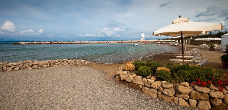 Praia de Alá de Punta imagens de stock