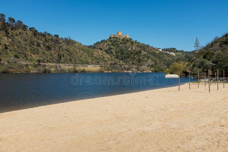 Praia de Alamal imagem de stock royalty free