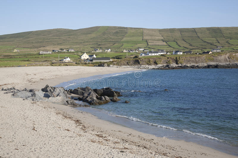Praia de Allihies, península de Beara; Cortiça fotografia de stock