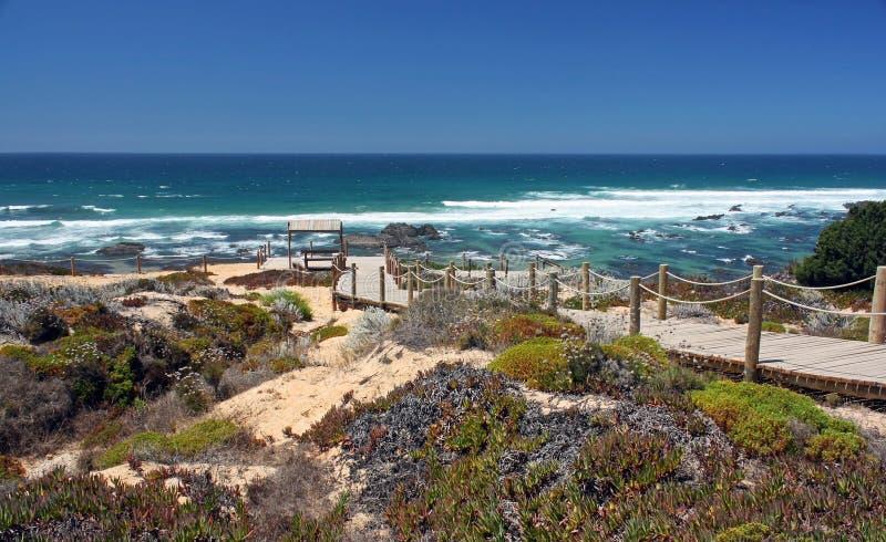Praia de Almograve fotografia de stock royalty free