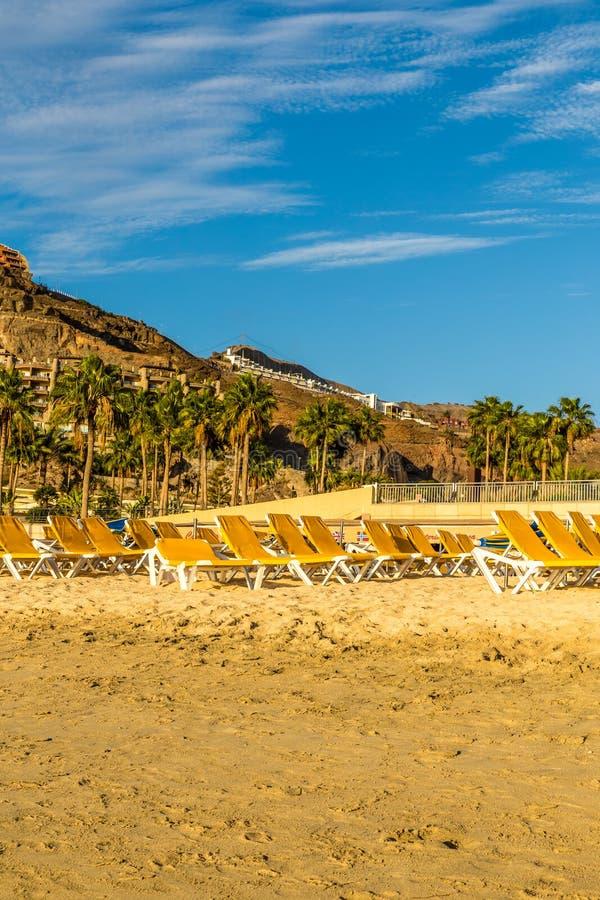 Praia de Amadores - Porto Rico, Gran Canaria, Espanha imagens de stock royalty free