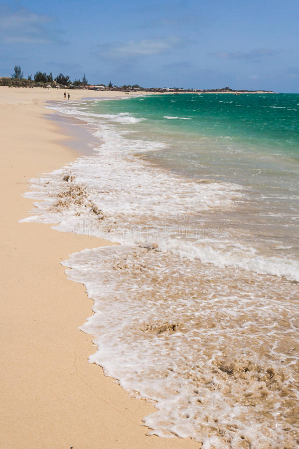 Praia de Anakao fotografia de stock royalty free