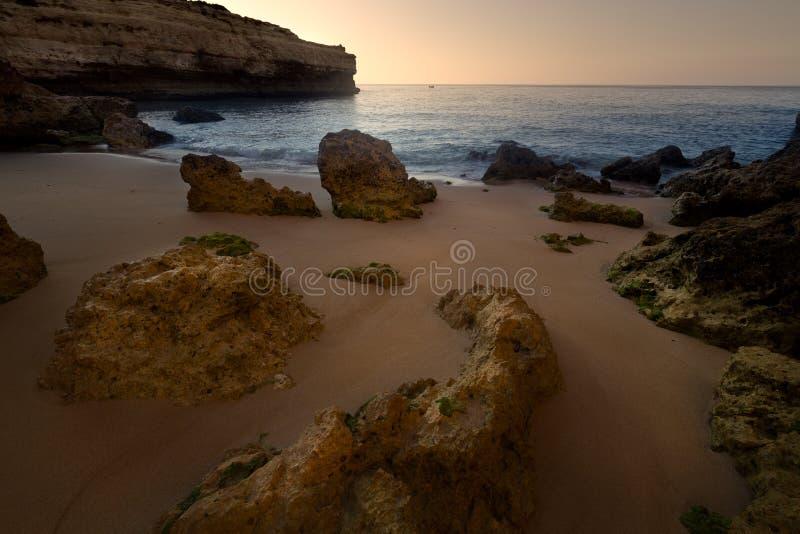 Praia De Arrifes, Algarve, Portugal stock image