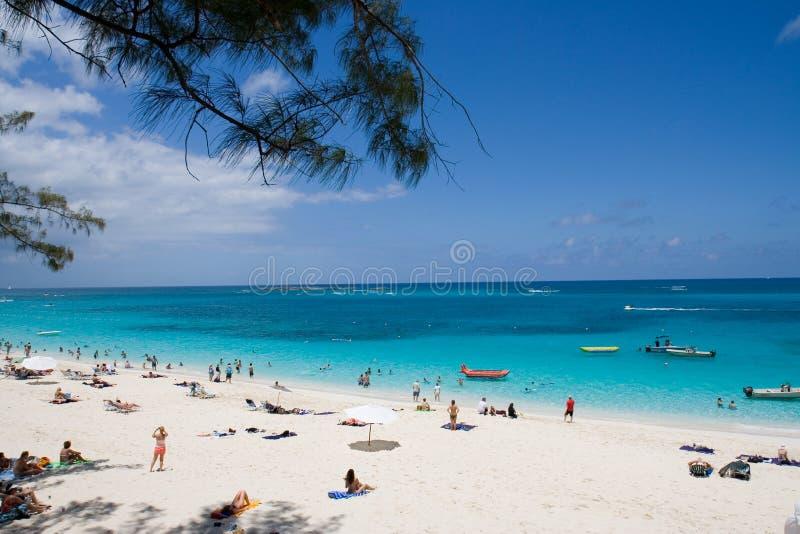Praia de Bahamas fotografia de stock