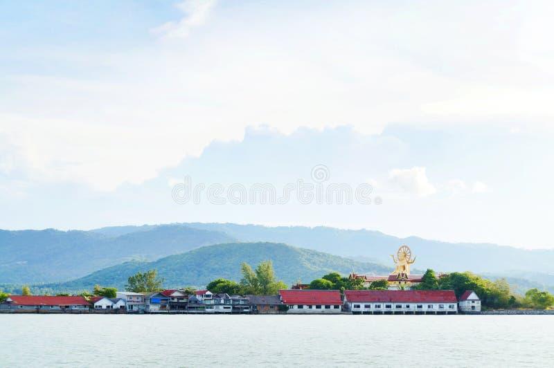 Praia de Bangrak, Samui, Tailândia fotografia de stock royalty free
