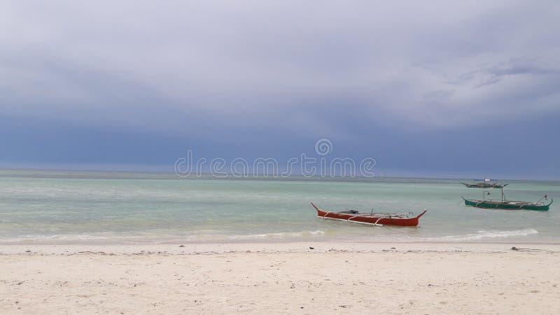 Praia de Bantayan, Cebu Filipinas imagens de stock