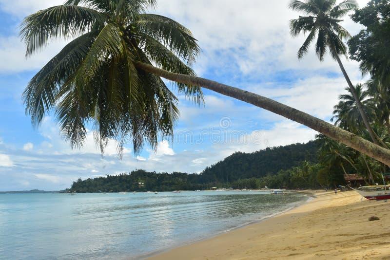 Praia de Barton do porto, as Filipinas imagem de stock royalty free