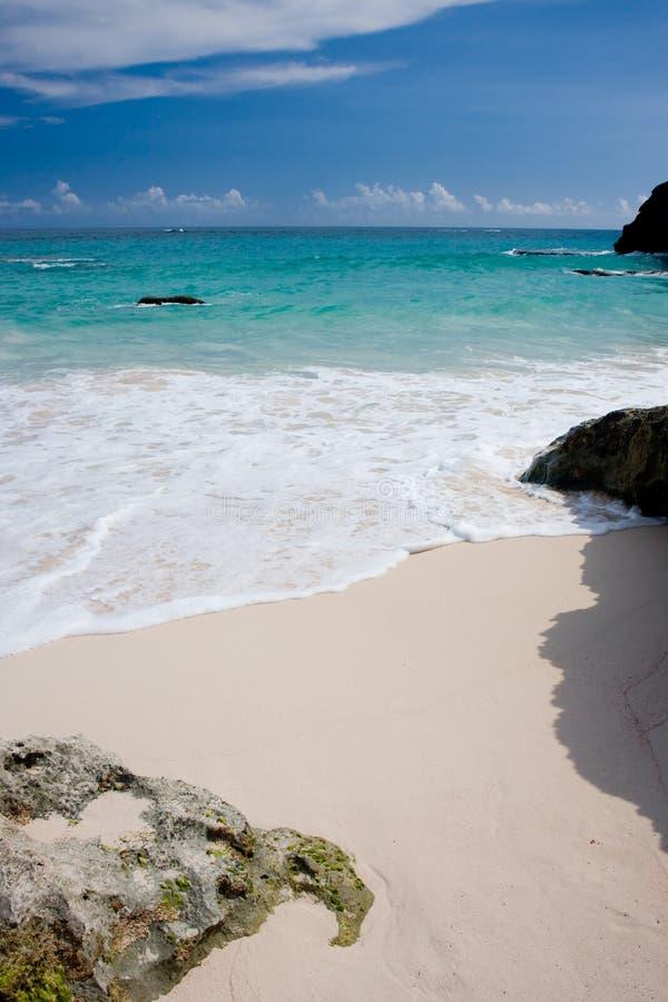 Praia de Bermuda imagem de stock royalty free