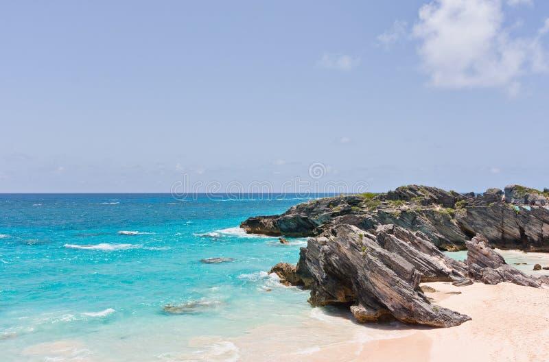 Praia de Bermuda imagens de stock royalty free
