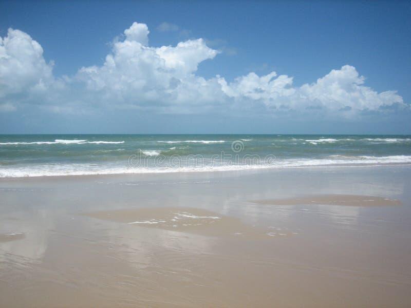 Praia de Brasil norte foto de stock