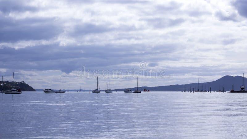 Praia de Bucklands, Auckland, Nova Zelândia imagem de stock royalty free