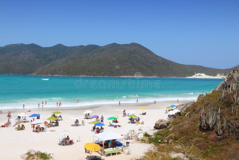 Praia de Cabo Frio fotos de stock