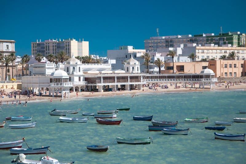 Praia de Caleta foto de stock royalty free