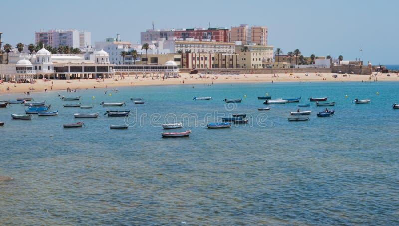 Praia de Caleta do La fotos de stock royalty free