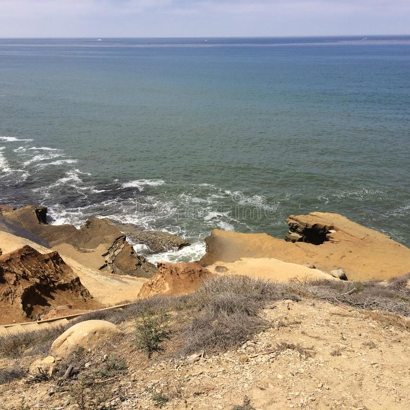 Praia de Califórnia imagens de stock