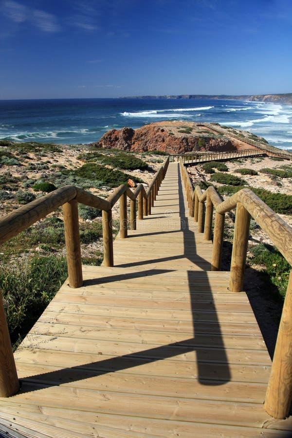 Praia de Carrapateira imagens de stock royalty free