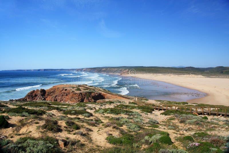 Praia de Carrapateira fotografia de stock royalty free