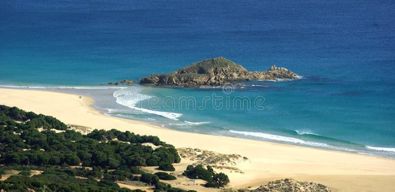 Praia de Chia imagem de stock royalty free