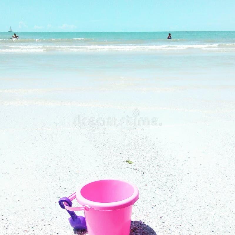 Praia de Clearwater foto de stock royalty free