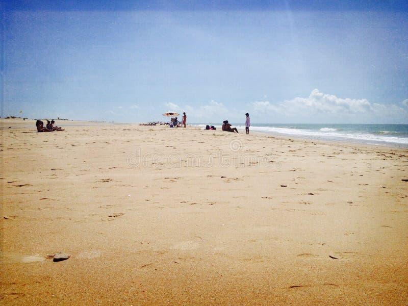 Praia de Conil fotografia de stock royalty free