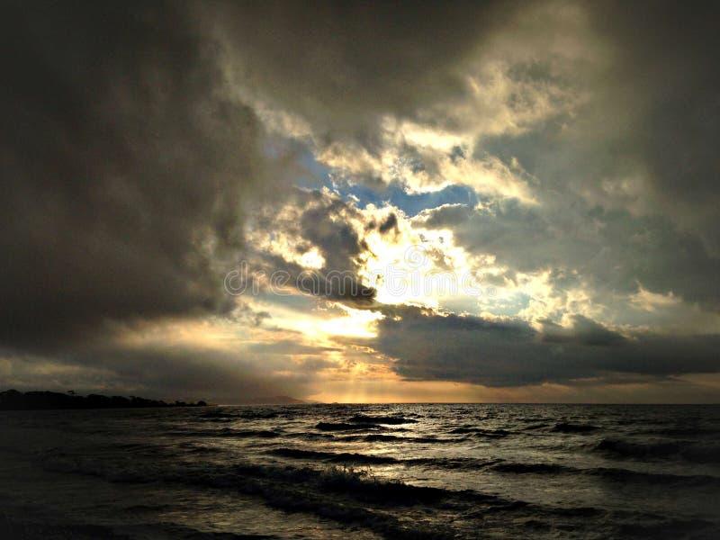 Praia de Corindi imagens de stock royalty free