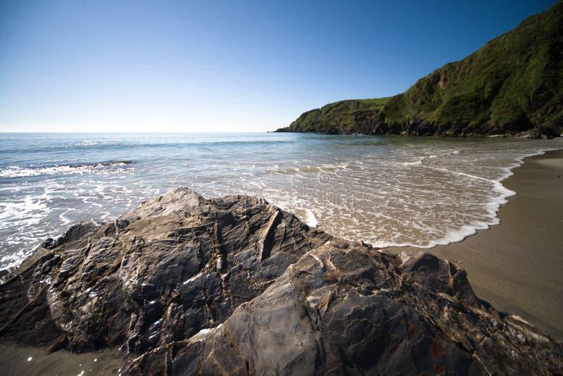 Praia de Cornualha imagens de stock royalty free