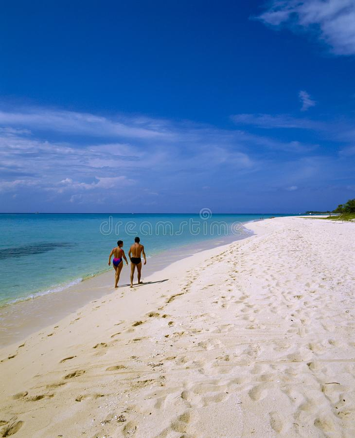 Praia de Cozumel, México fotografia de stock