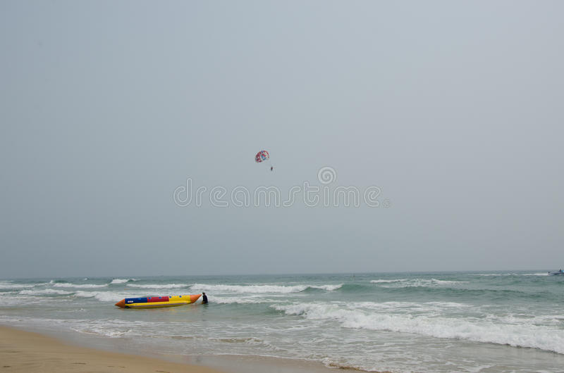 Praia de Danang imagens de stock