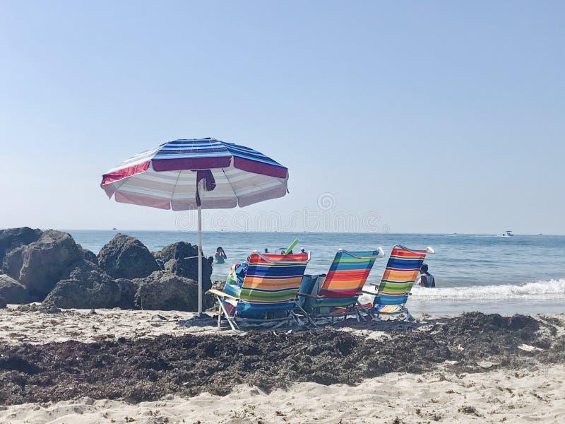 Praia de Deerfield fotos de stock