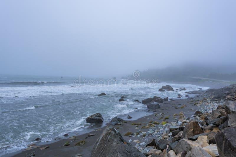 Praia de DeMartin imagens de stock royalty free