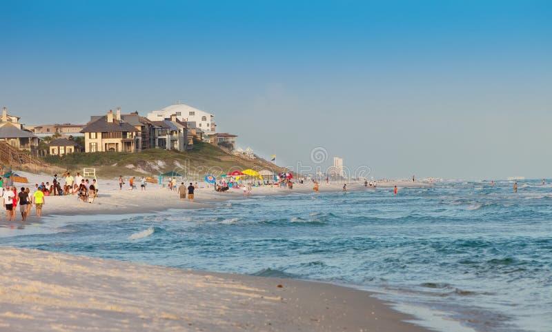 Praia de Destin em Florida fotografia de stock royalty free