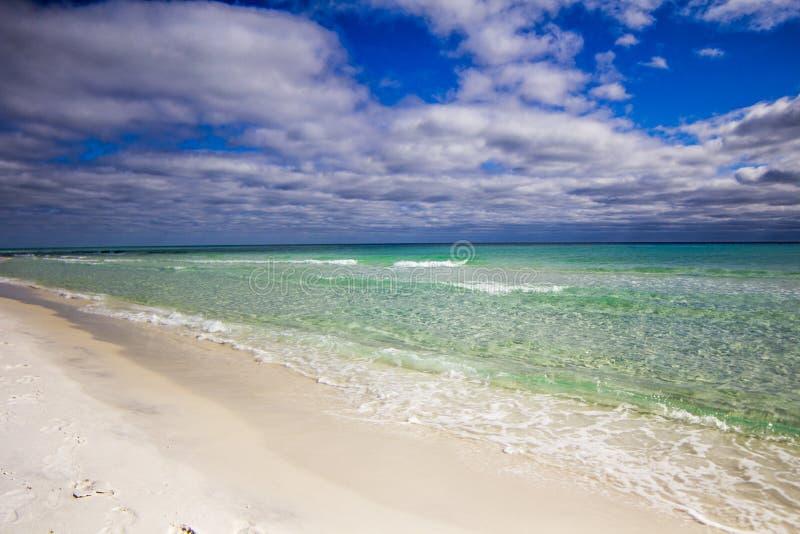 Praia de Destin Florida fotos de stock royalty free