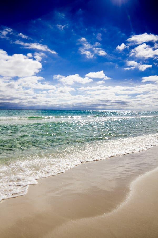 Praia de Destin Florida fotos de stock