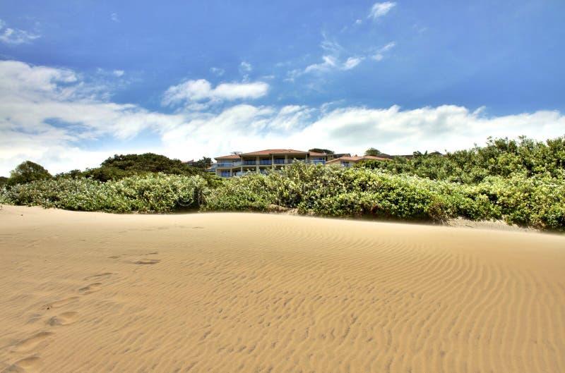 Praia de Durban fotografia de stock royalty free