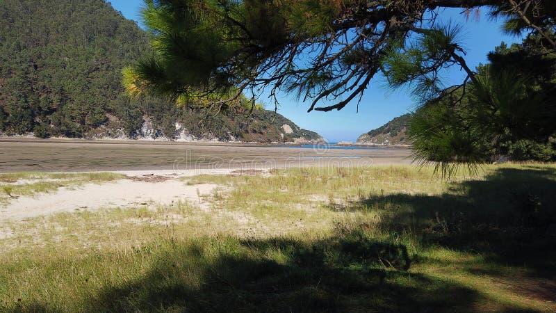 praia de El Sable imagens de stock