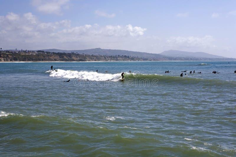Praia de estado de Doheny fotos de stock