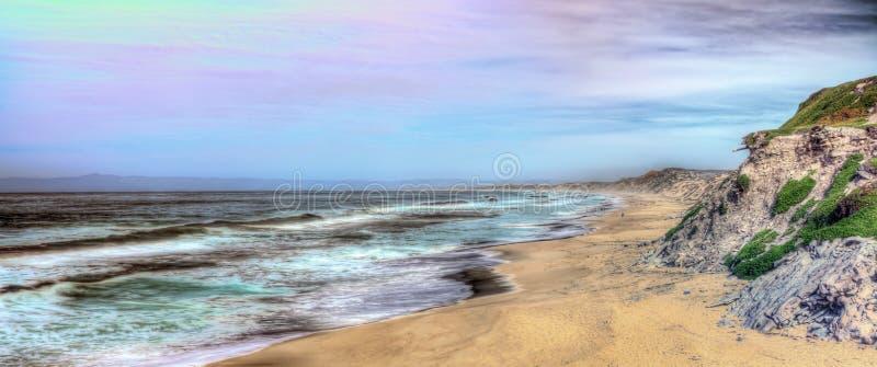 Praia de estado de Monterey imagens de stock royalty free